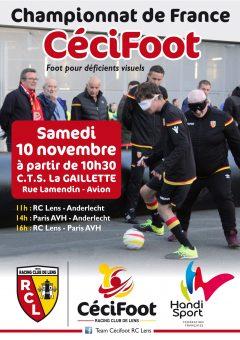 CECIFOOT / 1ère Journée du Championnat de France (Poule Nord) @ RC Lens CTS GAILLETTE | Douai | Hauts-de-France | France