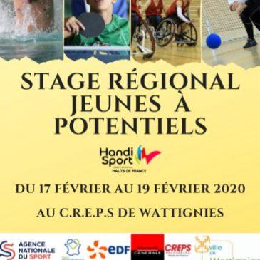 Stage JAP régional