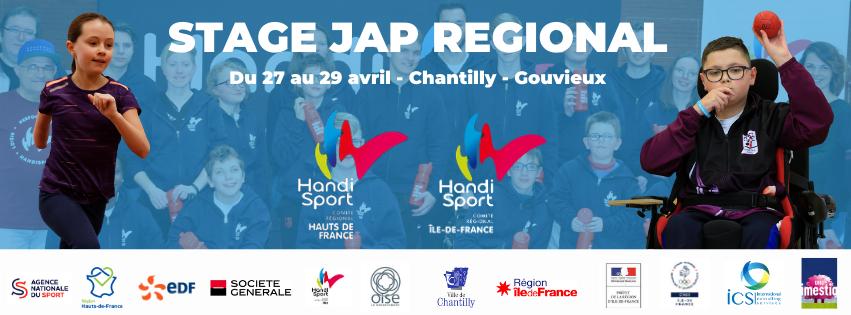 Le CRH Hauts-de-France s'associe avec le CRH Ile-de-France pour l'organisation du stage JAP régional !