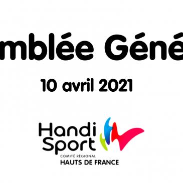 Assemblée Générale du Comité Régional Handisport Hauts-de-France